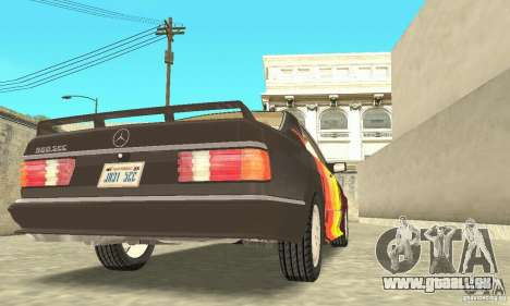 Mercedes-Benz W126 560SEC für GTA San Andreas