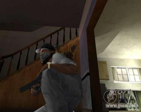 M9 pour GTA San Andreas troisième écran
