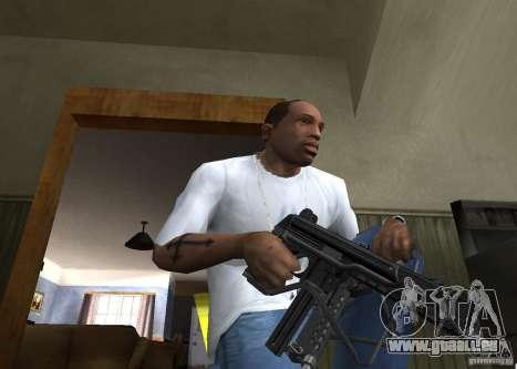 Walther MPL pour GTA San Andreas deuxième écran