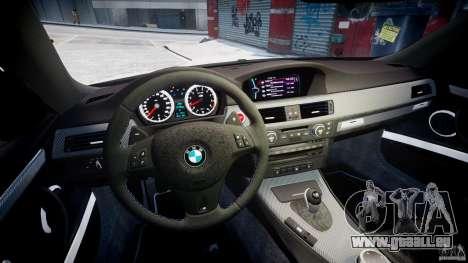 BMW M3 Hamann E92 für GTA 4 Rückansicht