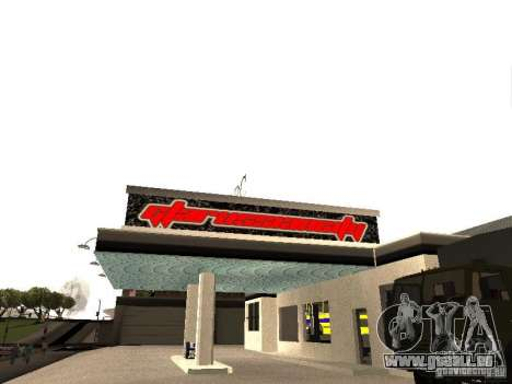 Garage de la GRC en fo pour GTA San Andreas deuxième écran