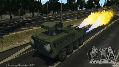 Stryker M1134 ATGM v1.0 für GTA 4 Unteransicht