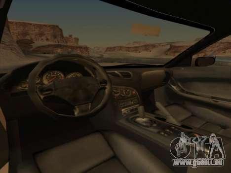 Mazda RX-7 für GTA San Andreas Rückansicht