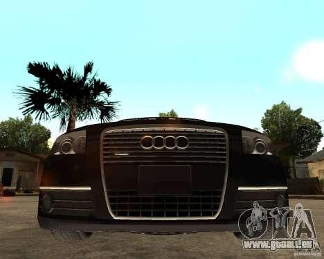 Audi A6 3.0 TDI Quattro für GTA San Andreas rechten Ansicht