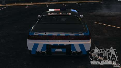 NFSOL State Police Car [ELS] pour GTA 4 est une vue de dessous