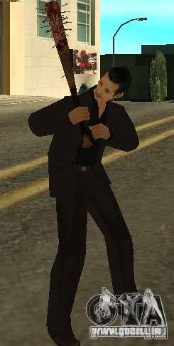 Bits sanglantes avec clous HD pour GTA San Andreas troisième écran