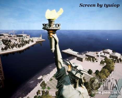New Statue of Liberty pour GTA 4 quatrième écran