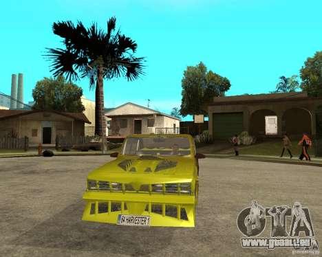 Anadol GtaTurk Drift Car für GTA San Andreas Rückansicht