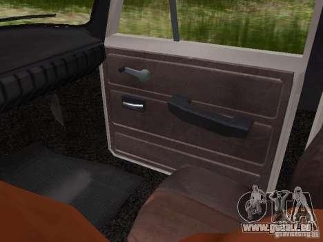 AZLK-412 pour GTA San Andreas vue de côté
