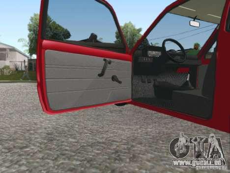 VAZ 1111 Oka pour GTA San Andreas vue intérieure