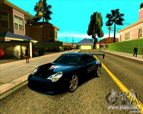 Porsche GT3 SuperSpeed TUNING für GTA San Andreas