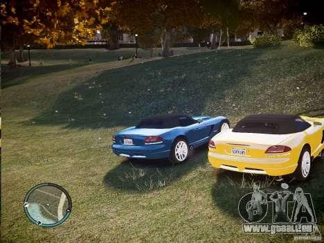 Dodge Viper SRT-10 2003 pour GTA 4 est un droit