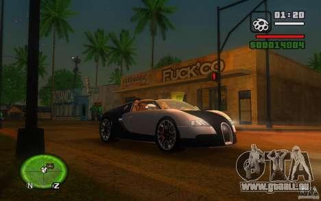 Bugatti Veyron 16.4 Grand Sport Sang Bleu pour GTA San Andreas