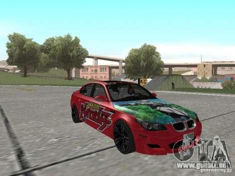 BMW M5 E60 für GTA San Andreas Motor