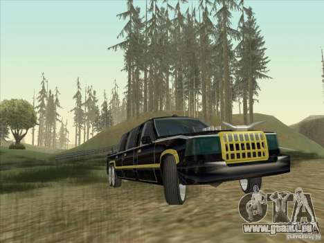 Limousine pour GTA San Andreas vue arrière