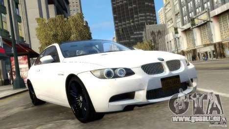BMW M3 E92 2008 v1.0 pour GTA 4 est un droit