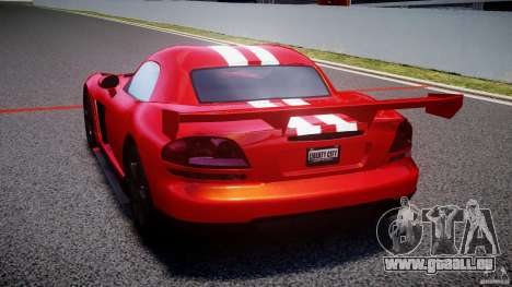 Dodge Viper RT 10 Need for Speed:Shift Tuning pour GTA 4 Vue arrière de la gauche