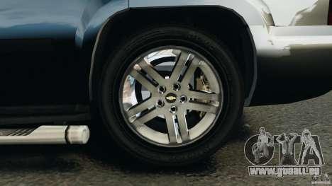 Chevrolet Tahoe LCPD SWAT pour GTA 4 est une vue de dessous