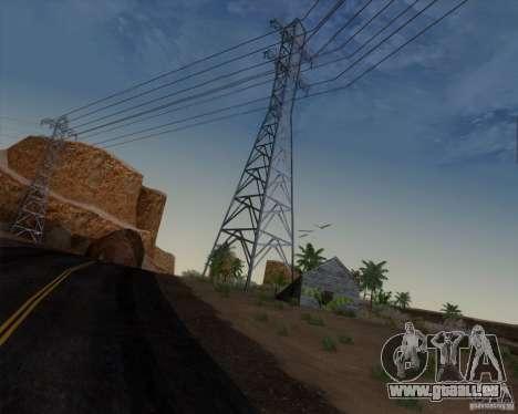 HQ Country N2 Desert pour GTA San Andreas quatrième écran
