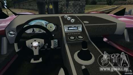 K-1 Attack Roadster v2.0 für GTA 4 Rückansicht