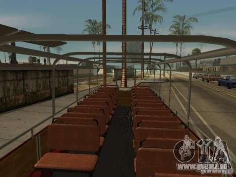 LIAZ 677 Ausflug für GTA San Andreas Rückansicht