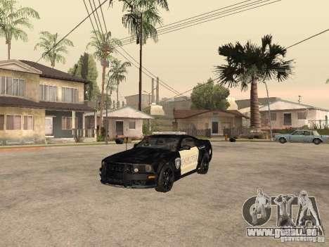 Saleen S281 2007 Barricade für GTA San Andreas