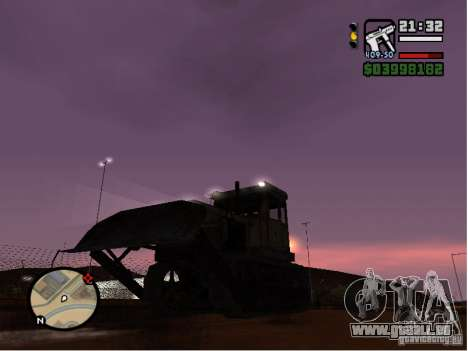 Bulldozer T 130 für GTA San Andreas