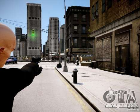 Hitman Blood Money Skin für GTA 4 dritte Screenshot