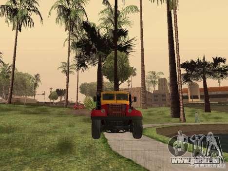 YAZ 214 pour GTA San Andreas vue arrière