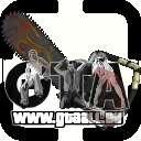 Grand Pack d'armes pour GTA San Andreas deuxième écran