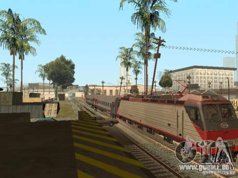 Passager voiture RZD v2.0 pour GTA San Andreas vue de droite