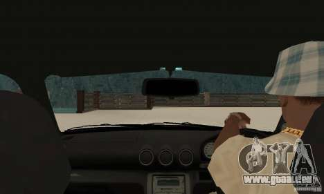 Nissan Silvia INGs +1 pour GTA San Andreas vue de droite