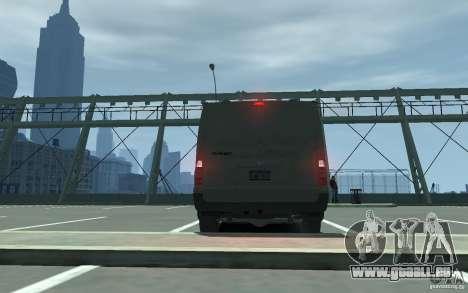 Ford Transit 2011 pour GTA 4 est un droit