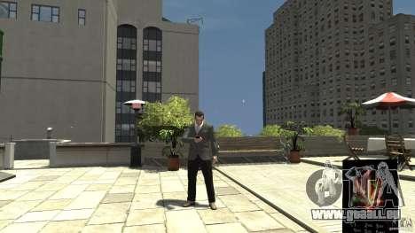 Ganja PhoneCell Theme pour GTA 4 secondes d'écran