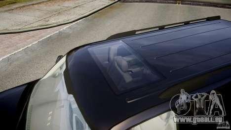 Chevrolet Suburban Z-71 2003 für GTA 4 Unteransicht
