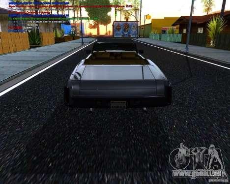 Chevy Monte Carlo Ragtop 1970 pour GTA San Andreas laissé vue