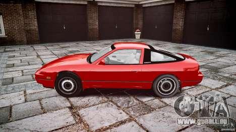 Nissan 240SX pour GTA 4 est une vue de l'intérieur