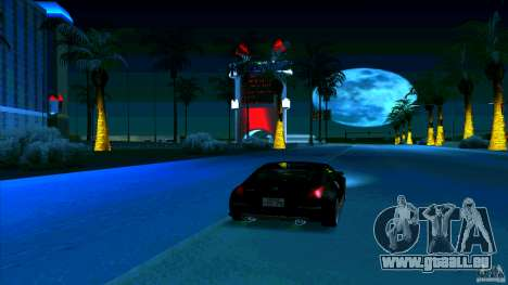 Nissan 350Z JDM pour GTA San Andreas vue intérieure