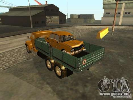 KrAZ LKW Pritsche v. 2 für GTA San Andreas rechten Ansicht