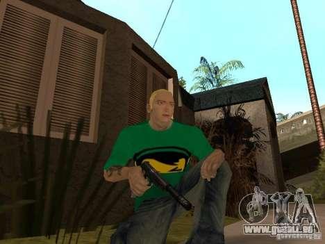 Peau Eminema pour GTA San Andreas septième écran