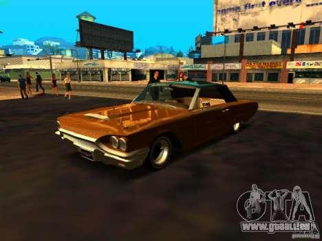 Ford Thunderbird 64 LowRider pour GTA San Andreas salon