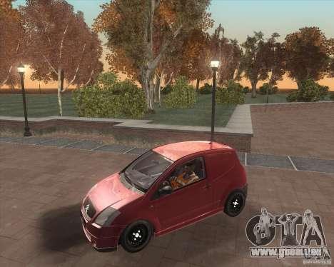 Citroen C2 workers car für GTA San Andreas Seitenansicht