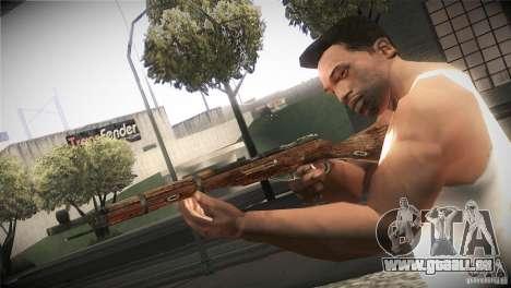 Weapon Pack by GVC Team pour GTA San Andreas huitième écran