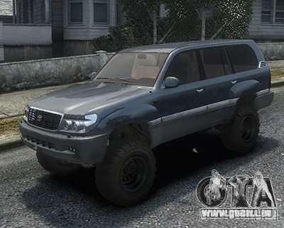 Toyota Land Cruiser 100 für GTA 4