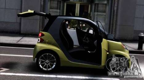 Smart ForTwo 2012 v1.0 für GTA 4 linke Ansicht