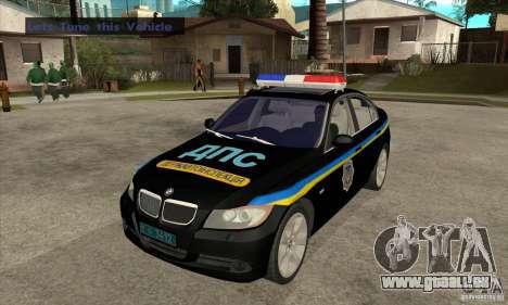 BMW 3 Serie DPS für GTA San Andreas