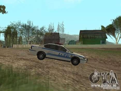 Police de GTA 4 pour GTA San Andreas laissé vue