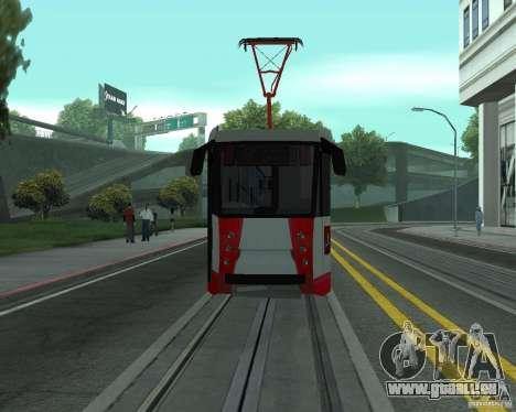 LM-2008 pour GTA San Andreas vue intérieure