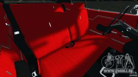 Chevrolet Chevelle SS 1970 v1.0 pour GTA 4 est une vue de l'intérieur