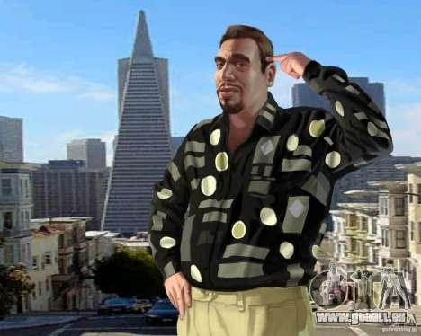 Écran de démarrage à San Francisco pour GTA 4 secondes d'écran